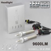 Wholesale 80W lm Cree XHP Car LED Headlight Kit Car LED Bulb H1 H3 H4 H7 H9 H11 HB1 HB3 HB4 HB5 H13 White K