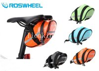 Wholesale ROSWHEEL New Arrival PU Waterproof Outdoor Bike Bicycle Cycle Cycling Saddle Bag Back Seat Tail Pouch Reflective Bags Package