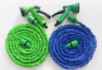 plastic water nozzle - 7 in New Expandable world Universal Flexible Plastic Hose Water Garden Pipe With Spray Nozzle For Car Wash Pet Bath FT FT FT FT