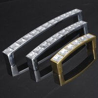 Wholesale Art Design Living Room Door Handle Diamond Pull Handles Home Decor Office Square Knobs