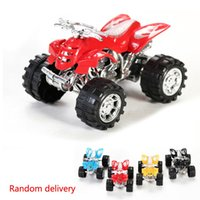 Wholesale Children Kids racing car Toy Skip Bounce Back Beach Motorcycle Sports Outdoor Toy Gift color Random delivery