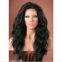 cheap full lace wigs - Hot sale glueless wavy full lace front lace human hair wigs natural color peruvian remy hair cheap wigs density