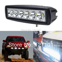 Wholesale w watt LED Work Light led driving light offroad Truck Mini Boat led bar led fog lamp12v spotligh for JEEP Audi