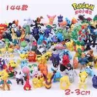 Wholesale Pretty baby POKEMAN set Action Figures kids toys CM Middle Size Cartoon Pikachu dolls Pocket Monster pvc Figure Xmas Gift For Kids