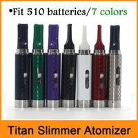 Titan delgado atomizador reemplazo Atomizadores seco hierba vaporizador Por 510 Thread Baterías Fit Kit Titan delgado Kit Snoop Dogg Pen