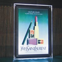 ad painting - Super large LED Ad Light Boxes V W Wattage LED Advertising Light Boxes Double side Painting Design Sale