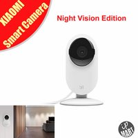 Wholesale In Stock Original Xiaomi Yi Smart Camera Night Vision Edition Xiaomi Xiaoyi Small Ants Smart Webcam for Smart Home Life