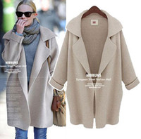 american apparel winter coat - American Apparel Women Long Cardigans Winter Thickness Poncho Sweater Cardigans Feminino oversized Coat Christmas Poncho Femme