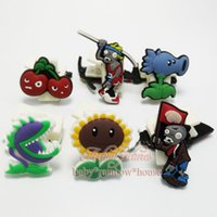 Wholesale 1PCS Plants vs zombies hot game PVC paper clips bookmarks office Filing supplies school suppies book clips kid school favors