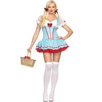 Knee-Length apparel offers - 2015 Real Special Offer Party Dresses Vestido European Nightclub Halloween Maid Costume Stage Outfits Performing Apparel