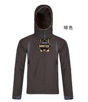 ykk waterproof zipper - W R mm YKK Zipper up Waterproof Jacket Chin Proof Mens Softshell Outdoor Sport Jackets Customized MOQ