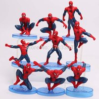 Wholesale New and Hot Sale Super Hero Marvel Spiderman Action Figures Different Spiderman Toys For Children