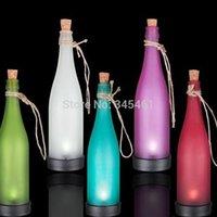IP65 Neon Bulbs Ni-MH LED Solar light Creative Wine Bottle led Light Lamp For Individual Garden Yard Festival Lighting Led Solar lighting fixture