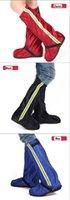 Wholesale men and women s high heel overshoes rain boots rainproof and antiskid