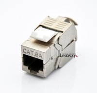 rj45 keystone jack - a batch G Network Cat6a CAT A Class Ea RJ45 Shielded Keystone Jack Network Connector Also suitable for CAT7 cable