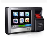 biometric time attendance system - Professional Color Touch Screen TCP IP RFID Fingerprint Time Attendance Biometric Door Lock Access Control System AC600T