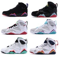 Wholesale Cheap Waterproof Shoes China - 2016 Best Fashion cheap china Kids j retro 7 basketball shoes sneakers shoes Free Shipping sale