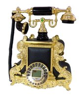 Wholesale Fashion phone antique telephone caller id telephone king charles ofof