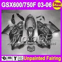 Wholesale 7gifts Unpainted Full Fairing Kit For SUZUKI GSX750F Katana GSX600F GSXF Fairings Bodywork Body