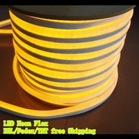 flexible neon light strip - Hot sale m led M LED Flexible neon Strip X26MM waterproof IP66 V V with Milky white jacket Holiday Light