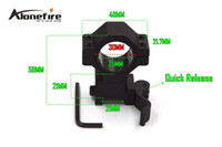 Wholesale AloneFire KC05 mm mm Ring Weaver Scope torch Rail Mount mm picatinny for flashlight rifle scope pc