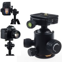 Wholesale 2014 New Arrival Rotating Metal Ball Head Ballhead Quick Release Plate w1