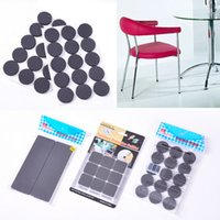 Wholesale Self Adhesive Furniture Leg Feet Non Slip Rug Felt Pads Protetcors Anti Slip Mat Soft Close Fittings CYA5