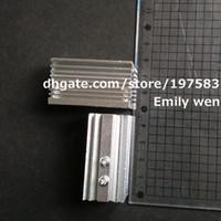 Wholesale 2pcs mm laser module Aluminum cooling heat sink22x27x46mm