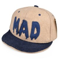 Wholesale Mixed Batch nbspKorean version of the fall and winter woolen hat baseball cap turned eaves letters hip hop skateboard hip hop hat DG0692 mix