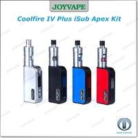 apex silver - Innokin Coolfire IV Plus W iSub Apex Kit box mod kit With Cool Fire IV Plus mah Mod Original