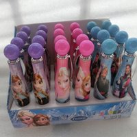 Wholesale Frozen Cartoon Ballpoint pen for Children Elsa Anna Kids School Supplies Students Pens Christmas Gifts W11
