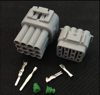 Wholesale 5 Sets Kit Pin Way Waterproof Electrical Wire Connector DJ7125Y Male and female Automobile Connector