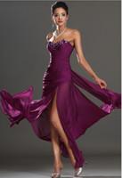 Wholesale 2015 Purple Celebrity Dresse Sweetheart Sexy Prom Dress Ruffles Runway Formal Dress High Split Evening Gowns Applique Beads Pageant Dresses