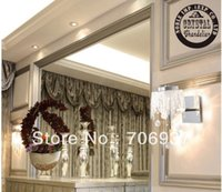 Wholesale customers recommending new design best selling luxury crystal wall lights with Name Brand mm diamater Design OEM