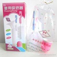 Wholesale 5pcs Genuine baby syringe needleneedle suction pump simple manual feeding nipple bottle brush