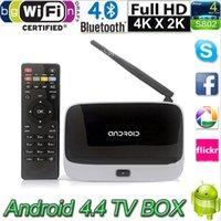 Wholesale Android TV Box Q7 CS918 Full HD HDMI P RK3188T Quad Core Android Media Player Smart TV Boxes GB GB XBMC Wifi Antenna Remote Contro