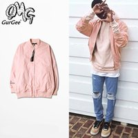 Cheap pink jacket Best loose baseball jacket