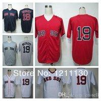 beckett new jersey - 2015 New Boston Red Sox Josh Beckett Jersey Baseball Throwback Jerseys Team Color Blue White Red Grey Hot Sale Men s