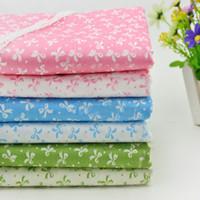 Cheap Series 6 Assorted Pre Cut Charm Cotton Quilt Fabric 50*50CM Fat Quarters Bundles