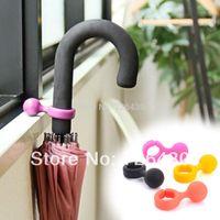 Wholesale 10 Portable Umbrella Stand Holder Colorful Umbrella Ring Hanger Hook Bracket Storage Rack Indoor Outdoor