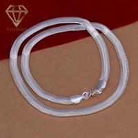 Wholesale Hot Sale Silver Plated MM Inches Snake Chain Nickle Free Necklace Jewelry