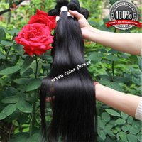 Wholesale 6A Grade Rosa Hair Brazilian Virgin Hair Straight Bundles of Brazilian Hair Dye any Color Braiding hair