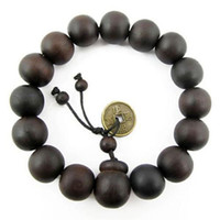 buddha beads - Fashion Beaded Strands Wood Buddha Buddhist Prayer Beads Tibet Bracelet Mala Bangle Wrist Ornament Tibet Jewelery