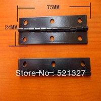 Wholesale 75 MM Packing hinge tin gift box hinge electrophoresis big black hole