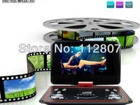 Wholesale New Arrival inch Handheld Home DVD Player with D Analog TV FM Radio USB Games CD