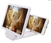 Wholesale 1pcs New Arrival D Enlarged Screen Glass Amplifier Eyes Display F1 D Video Folding Holder Stand Magnifying for Mobile Phone