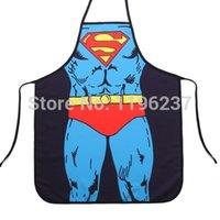 adult bibs funny - 1 adult aprons cooking aprons for men superman aprons funny apron bib kitchen BBQ Tools