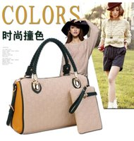 Wholesale New fashion female package Europe and the United States single shoulder bag handbag hitting scene high capacity inclined shoulder bag to sen