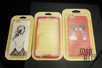 Wholesale PVC paper Retail package Universal Packaging box Plastic boxes for phone Case iphone plus s samsung s5 s6 note