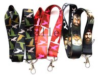 duck dynasty - Hot Mixed Different styles DUCK DYNASTY Lanyard key chains Neck Strap Lanyard